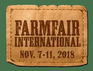 Farmfair International Nov 7-11