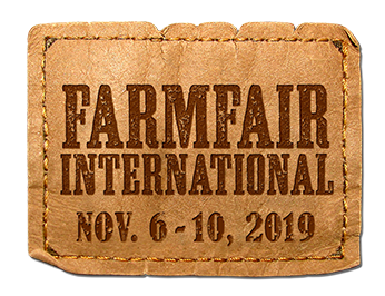 Farmfair International Nov 6-10, 2019