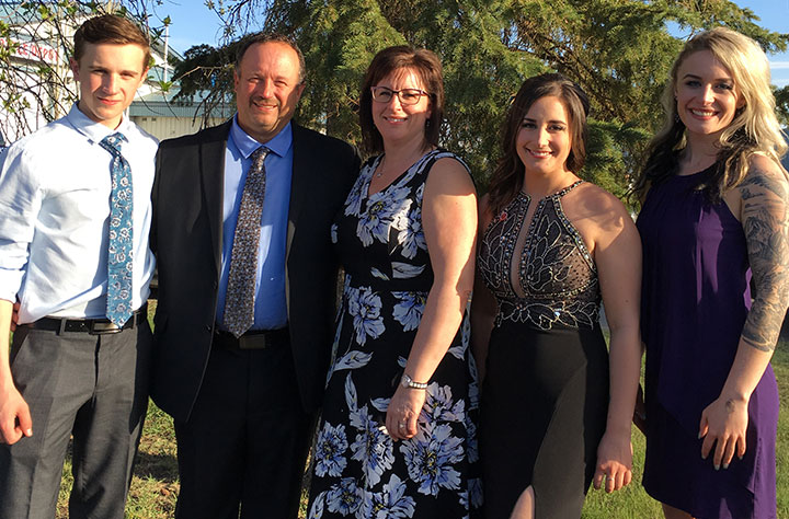 Lychak Family - BMO Farm Family Awards 2019