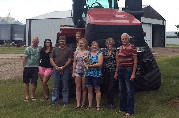 Olthuis Family - BMO Farm Family Awards 2019