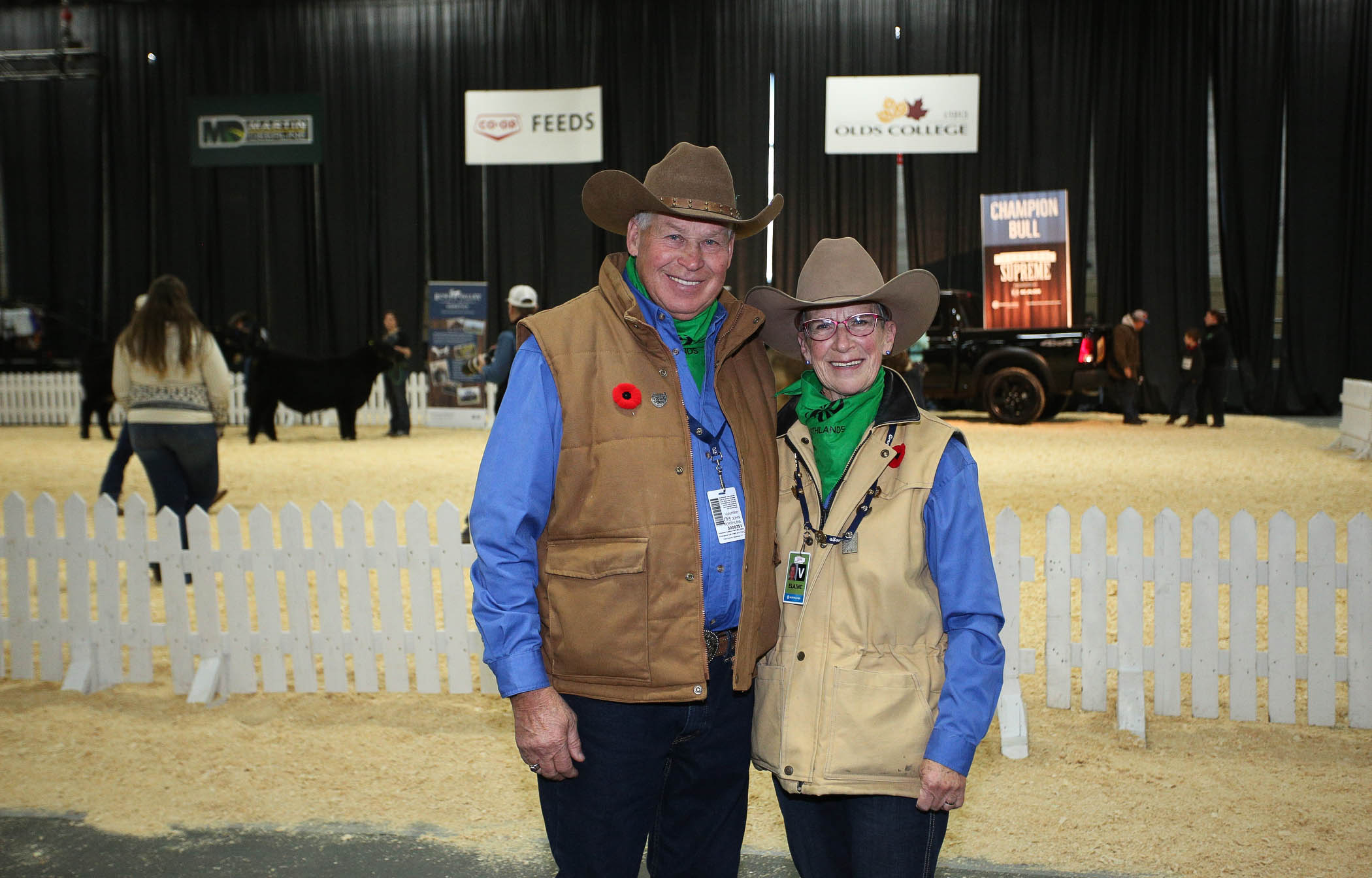 Volunteers at Farmfair International