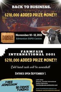 Farmfair International Back to Business