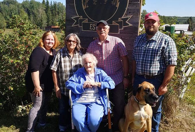 Maddock Family - BMO Farm Family Awards 2021